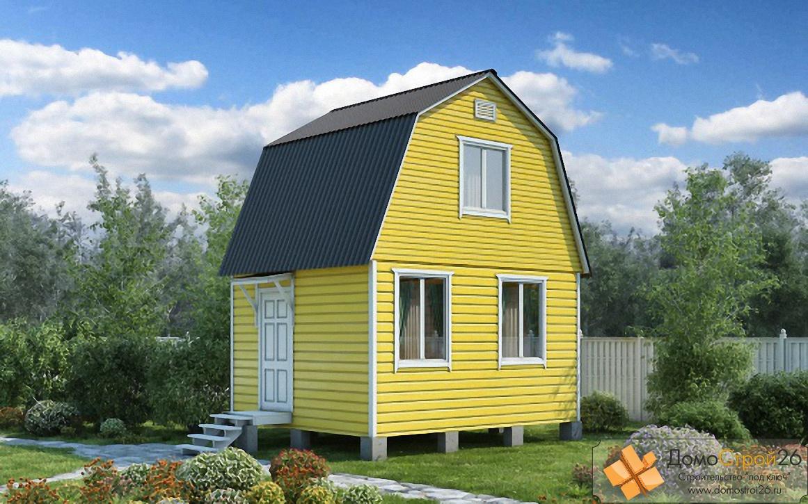 Дачный домик из клееного бруса цена